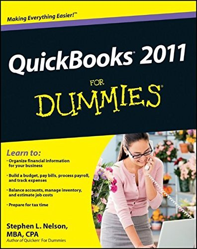 Stephen L. Nelson Quickbooks 2011 For Dummies