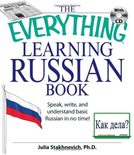 Julia Stakhnevich The Everything Learning Russian Book Speak Write And Understand Basic Russian In No