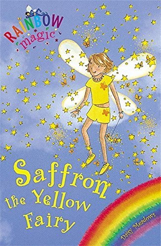 Daisy Meadows Saffron The Yellow Fairy Rainbow Magic #3