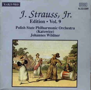 Johann Strauss Jr. Edition Vol. 9