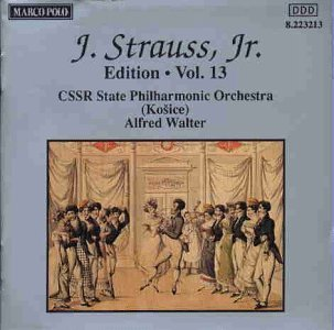 Johann Strauss Ii Edition Volume 13