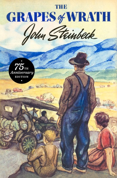John Steinbeck The Grapes Of Wrath 75th Anniversary Edition 0075 Edition;