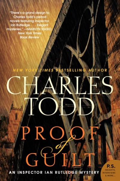Charles Todd Proof Of Guilt