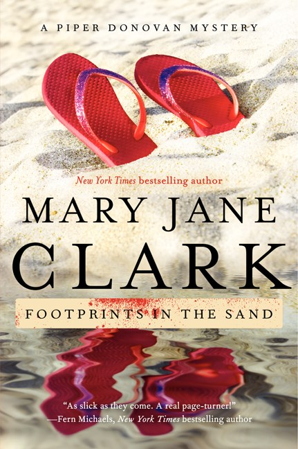 Mary Jane Clark Footprints In The Sand A Piper Donovan Mystery