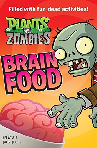 Brandon T. Snider Plants Vs. Zombies Brain Food