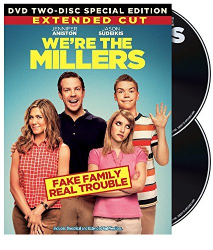 We're The Millers Sudeikis Aniston Roberts DVD Uv R Ws