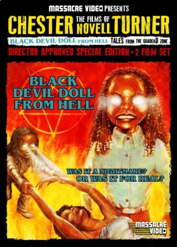Black Devil Doll Tales From The Quadead Zone Double Feature Nr