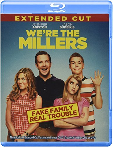 We're The Millers Sudeikis Aniston Roberts Blu Ray DVD Uv R Ws