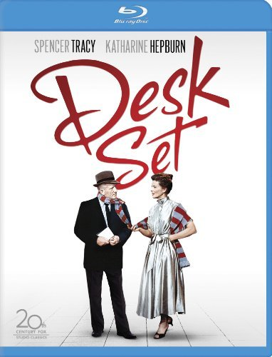 Desk Set (1957) Tracy Hepburn Blu Ray Ws