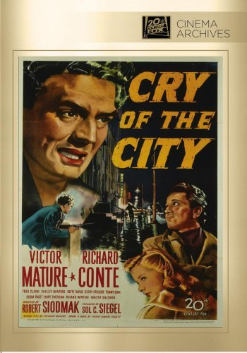 Cry Of The City Cry Of The City DVD Mod This Item Is Made On Demand Could Take 2 3 Weeks For Delivery