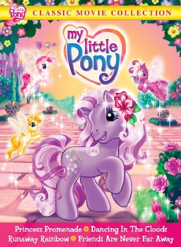 My Little Pony Classic Movie Collection DVD Nr Ff