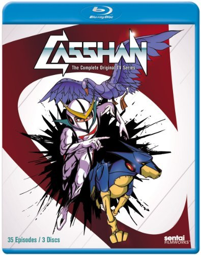 Casshan Complete Collection Blu Ray Nr