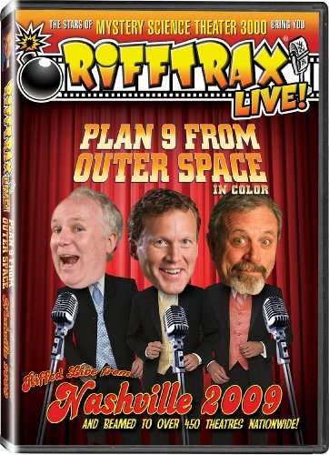 Rifftrax Live Plan 9 From Outer Space Ws Nr