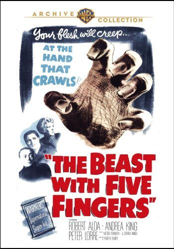 Beast With Five Fingers Alda King Lorre Made On Demand Nr