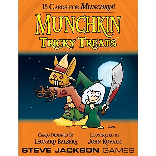 Steve Jackson Games Munchkin Tricky Treats 15 Cards For Munchkin
