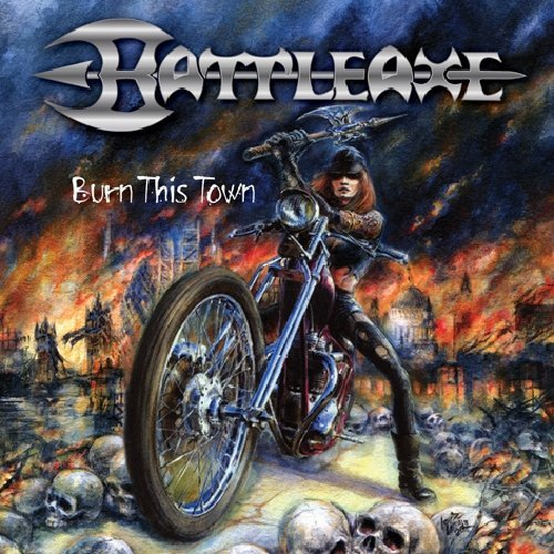 Battle Axe Burn This Down Rerelease