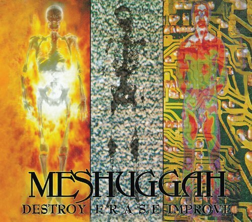 Meshuggah Destroy Erase Improve (re Issu Lmtd Ed. Digipak Bonus Tracks
