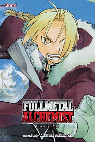 Hiromu Arakawa Fullmetal Alchemist 3 In 1 Volume 6 Volumes 16 17 And 18