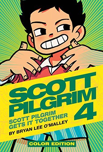 Bryan Lee O'malley Scott Pilgrim Color Hardcover Volume 4 Scott Pilgrim Gets It Together