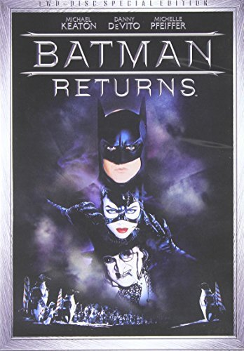 Batman Returns Keaton Devito Pfeiffer Walken Ws Pg13 2 DVD