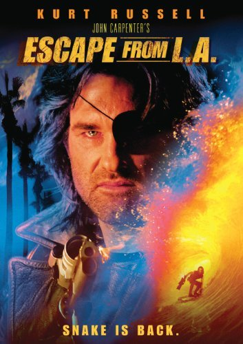 Escape From L.A. Russell Keach Buscemi DVD R Ws