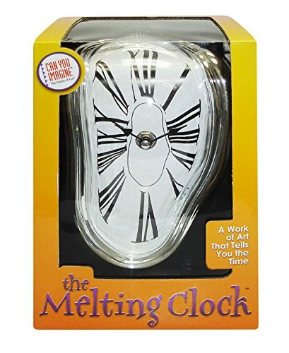 Gift Time Warp Decorative Shelf Clock