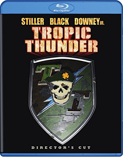 Tropic Thunder Stiller Black Downey Nolte Blu Ray Ws Nr