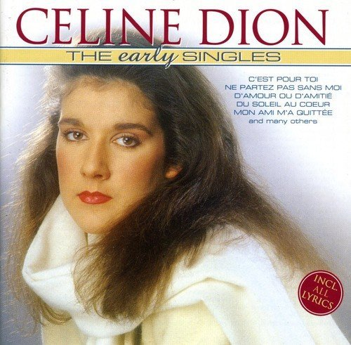 Dion Celine Early Singles Import Eu