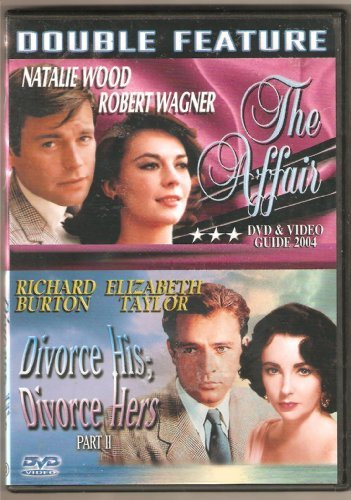 Affair Divorce His; Divorce Hers (dbl Feature) Wood Wagner Burton Taylor