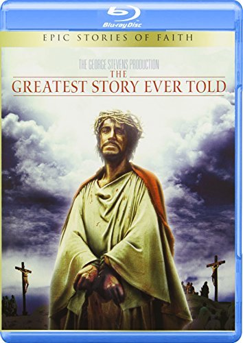 Greatest Story Ever Told Von Sydow Heston Poitier Rains Blu Ray Nr Ws