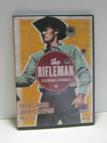 Rifleman 3 Classic Episodes [slim Case] Connors Crawford Fix