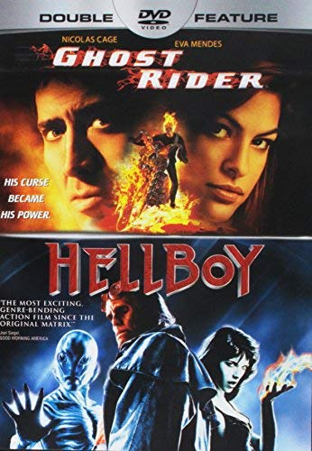 Ghost Rider Hellboy Double Feature
