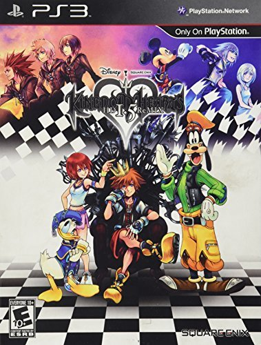 Ps3 Kingdom Hearts Hd 1.5 Remix Limited Edition