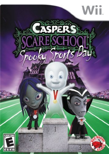 Wii Casper Scare School Spooky Sports Day