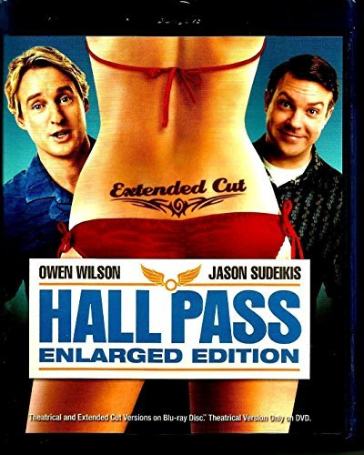 Hall Pass Wilson Sudeikis Fischer Blu Ray + DVD + Digital Copy Extended Cut