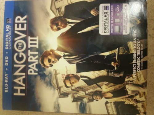 Bradley Cooper Zach Galifianakis The Hangover Part Iii (blu Ray+dvd+digital Hd) Blu Ray+dvd+digital Hd
