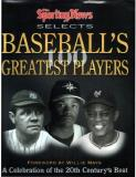 Baseball's 100 Greatest Players By The Sporting Ne