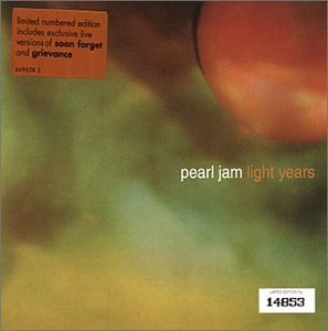 Pearl Jam Light Years