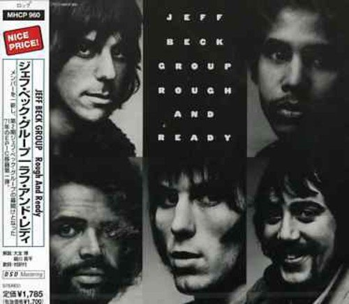 Jeff Beck Rough & Ready Import Jpn Lmtd Ed. Remastered Reissued Esca 5225