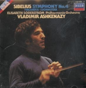 Sibelius Symphony No 4 CD German Decca 1982