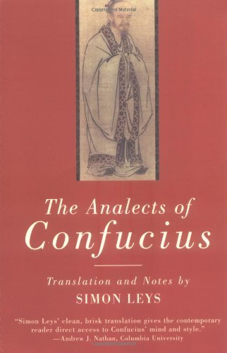 Confucius The Analects Of Confucius