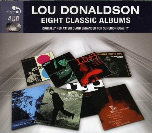 Lou Donaldson Eight Classic Albums Import Gbr 4 CD