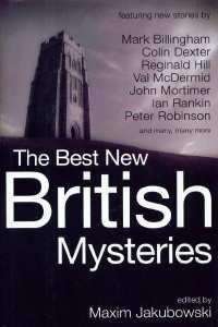 Maxim Jakubowski Best New British Mysteries