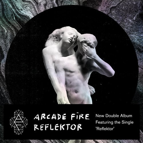Arcade Fire Reflektor Edited Cover Art 2 CD