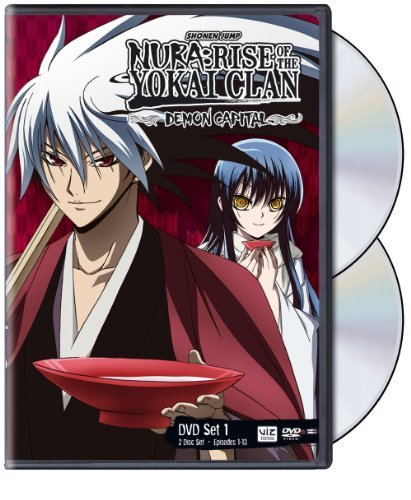 Nura Rise Of Yokai Clan Demon Capital Set 1 DVD Nr Ws