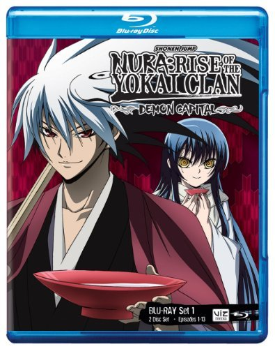 Nura Rise Of Yokai Clan Demon Capital Set 1 Blu Ray Nr Ws