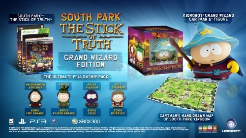 Ps3 South Park The Stick Of Truth Grand Wizard Edition