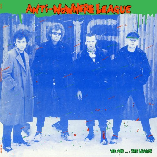 Anti Nowhere League We Are...The League Green Vinyl