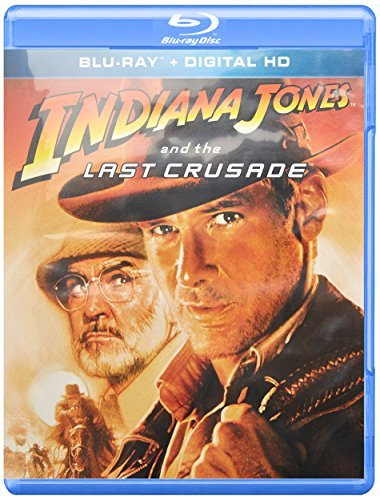 Indiana Jones & The Last Crusade Ford Connery Elliott Blu Ray Pg13 Ws