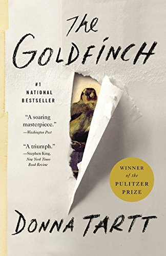 Donna Tartt The Goldfinch A Novel (pulitzer Prize For Fiction)